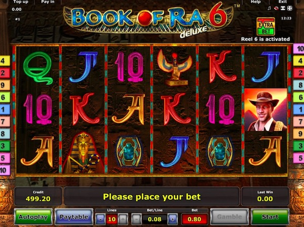 book of ra 6 knjige slot igra