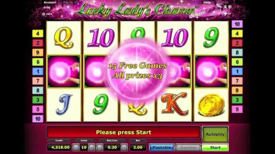 casino igre online lucky ladys charm deluxe